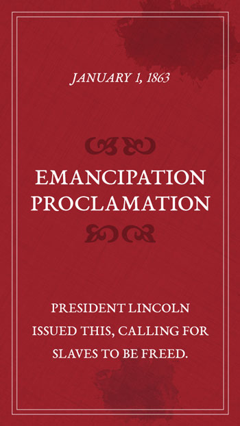 HistoryTrivia_EmancipationProclamation