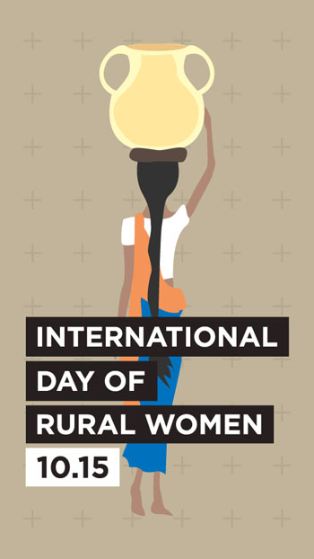 InternationalDayOfRuralWomen