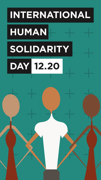 InternationalHumanSolidarityDay
