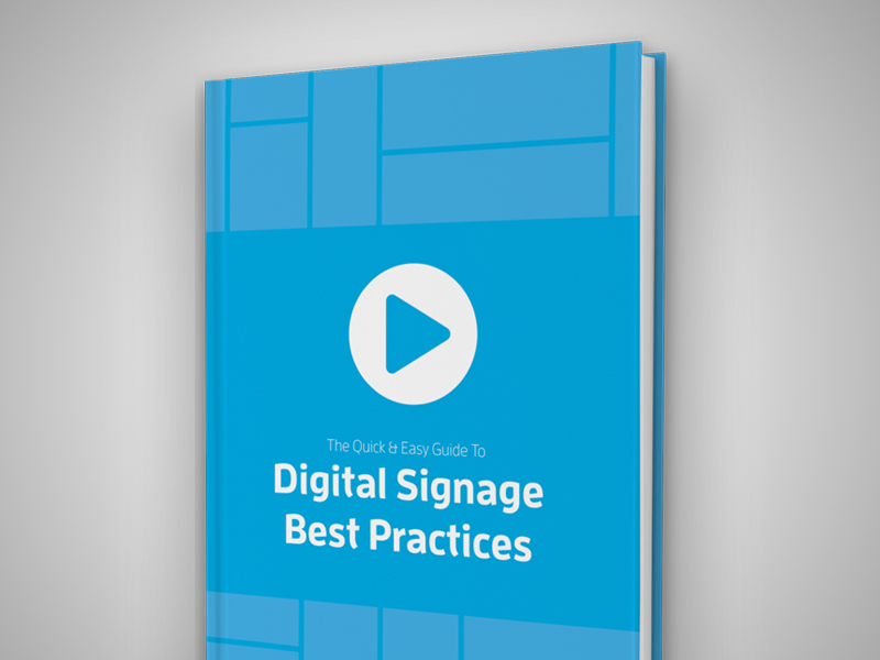 digital signage best practice ebook whitepaper